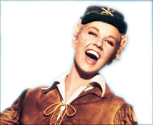 This picture of Doris Day as Calamity Jane should warn you something bad is going to happen.