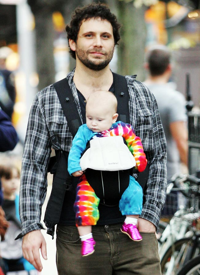Makes his Baby Dress Like a Hippie Clown