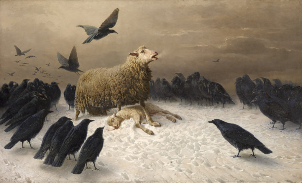 This is a totally unrelated image. It's a painting by August Friedrich Schenck. Enjoy. I find it heartbreaking and creepy all at the same time.